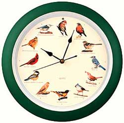 Singing Bird Clock. Please Order From Dutchguard: 800 821 5157