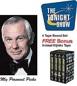 Johnny Carson Tape Set. Please Order From Dutchguard: 800 821 5157