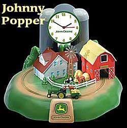 John Deere Alarm Clock. Please Order From Dutchguard: 800 821 5157