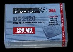 Imation/3M DC2120  120 MB Data Tape