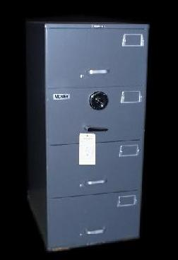Mosler GSA Rated Four Drawer Container/Safe