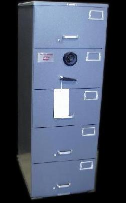 Mosler GSA Rated Five Drawer Container/Safe