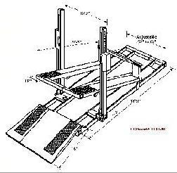 Tilt-A-Lift Fork Lift Service Lift